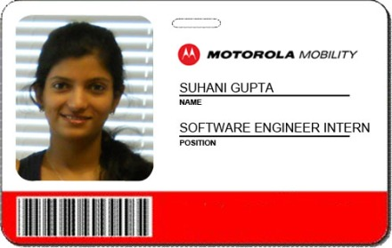 Suhani- Software Engineer Intern